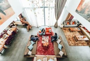 types of living room rugs