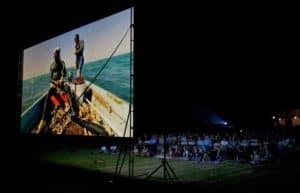Lumens for Outdoor Projector